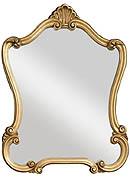 Victorian Gold Mirror