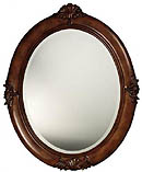 Antique Style Oval Mirror