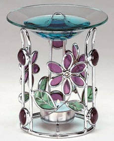 Stained Glass Flower Diffuser: C